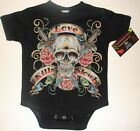 NWT BLACK INFANT BODYSUIT OR TODDLER TEE OF OUR NEW LOVE KILLS ALWAYS