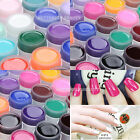 12 Colors Nail Art Solid Pure UV Gel Builder Shiny Cover Tips Extension Manicure