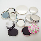 "1-1/2"" (1.5 inch) Complete Tecre MAGNET Button Parts - Various Quantities"