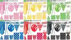 TABLEWARE-POLKA DOTS SPOTS ~PAPER NAPKINS, PLATES, CUPS ,STRAWS ~PLASTIC CUTLERY