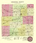 ANDERSON COUNTY KANSAS (KS) BY L.H. EVERTS & CO. 1887