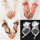 Sexy Fingerless Lace Short Gloves Hand Wedding Evening Party Bridal Dress Prom