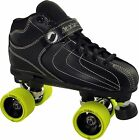 Jackson Vibe Rollerbones Turbo Quad Speed Roller Derby Skates Men Size 4-12