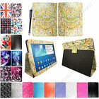 "For Samsung Galaxy Tab 3 10.1"" P5200 Printed Leather Flip Case Cover+Stylus"