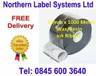 55mm x 1000 Metre Ink Ribbons for ICE Zodiac / Videojet / Linx Coders (inc VAT)