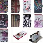 Business Card Leather Wallet Case Cover Skins FOR Galaxy S4 i9500 i9502 i9505