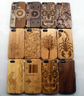 Luxury Carved Design  Real Wooden Bamboo Case Cover for Apple iphone 5 5G 5S NEW