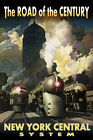 New York Central Railroad Streamliners Poster Chicago Train Art Deco Print 218-