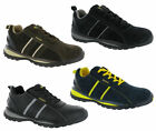 Grafters Lightweight Steel Toe Cap Safety Trainers Mens Work Shoes UK3-12