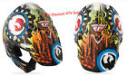 2014 Fly Racing Dragon Alliance HELMET Carbon Fiber Adult S Pearl-White-Multi
