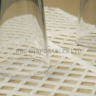 Glass Stacking Mats Clear Shelf Mat White Interlocking Ideal For Pub Home Bars