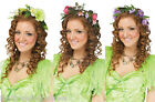 1960's Wild Child Flower Fairy Hippy Flower Hair Garland Headpiece Fancy Dress