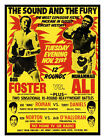 Muhammad Ali vs Foster Boxing Poster Print - Framed And Memo Board Available