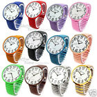 New Geneva Super Large Face Stretch Band Fashion Watch - Free Shipping