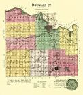DOUGLAS COUNTY KANSAS (KS) BY L.H. EVERTS & CO. 1887