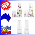 Water Carafe Set Glass Bedside Butterfly Combi or His and Hers Design Gift New