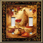 Light Switch Plate Cover -Tuscan Wine And Fruit - Kitchen Home Decor