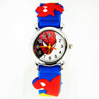 New Cute  Design Spider-man 3D Children Watches Christmas Gift CT6