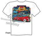40 Mercury T Shirt 1940 Custom Car Andy's Diner Hot Rod Tee Sz M L XL 2XL 3XL