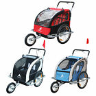 aosom bike trailer - Elite Aosom Double Baby Bike Trailer Stroller Child Bicycle Kids Jogger 3 colors