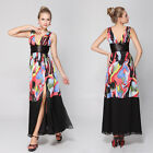 Ever Pretty V-neck Split Casual Women Party Dresses 09853 Size 6 8 10 12 14 16