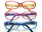 Reading Glasses Optical Quality Nice Frames Red/Orange, Pink/Purple, Blue/Black