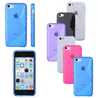 S Line Wave TPU Gel Silicone Soft Matte Case Back Cover Skin For Apple iPhone 5c