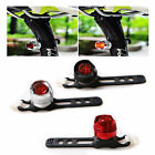 3 in 1 Round Style Red Light Bicycle Bike Cycling Taillight Flashlight