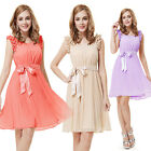 Ever Pretty Womens Chiffon Bridesmaids Cocktail Formal Casual Summer Dress 03717