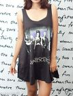 Evanescence Amy Lee Rock WOMEN T-SHIRT DRESS Tank Top Tunic Vest Size M L