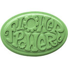 FLOWER POWER Soap Bar Handmade Glycerin Novelty Hippy Hippie -Pick Color & Scent