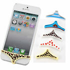 hs10 Silicone Underwear Thong Home Button Case Cover For iPhone 4 5 4S 5S soft
