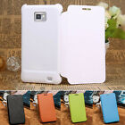 Elegant Flip Leather Book Case Phone Cover for Samsung Galaxy S 2 II i9100 XM01