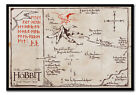 The Hobbit Mountain Map Large Framed Cork Pin Notice Board