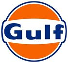 Gulf Oil Gasoline Vinyl Decal / Sticker  5 Sizes