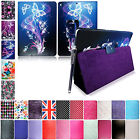 For Apple Ipad 2 Ipad 3 And Ipad 4 Printed Leather Flip Case Cover +Guard+Stylus