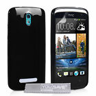 Accessories For The HTC Desire 500 Silicone Gel Case Cover & Screen Protector UK