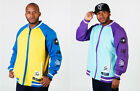 Sir Benni Miles Urban College zip Jacke Varsity Sweatjacket hip hop raw blue