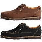 New Mooda Casual Leather Mens Fashion Sneakers Shoes Black Brown