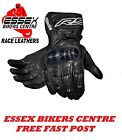 RST Blade 1664 Leather Waterproof Breathable Road Sport Motorcycle Gloves New