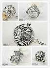925 Sterling silver Chime Sounds Harmony ball Mexican Bola Angel Caller Baby New