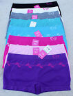 Lot 1, 3, 6 Microfiber SEAMLESS Butterfly Spring Leaves Active Boyshorts Panty