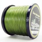 8Strands1000M Army Green Super Strong Dyneema Saratoga Braided Sea Fishing Line