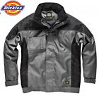 DICKIES WATERPROOF JACKET COAT HOOD MULTI POCKET WORKWEAR CASUAL IN30060 S- 4XL