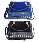 New Women Lady Rivet Tote Shoulder Fashion Messenger Handbag Bag UK Seller!
