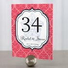 Personalized Moroccan Wedding Table Numbers
