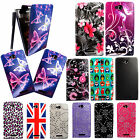 FOR SONY XPERIA C S39h NEW PRINTED PU LEATHER MAGNETIC FLIP CASE COVER + STYLUS