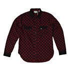 Levi's Vintage Clothing Checkerboard Rodeo Shirt Coffee Bean Check RRP £155