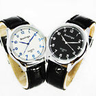 Hot ! New 2 Colors Casual Men's leather Quartz Analog Fashion Wrist Watch, NW5