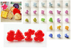 Cookie Cake Biscuit Plungers Cutter Mold Sugarcraft Baking Pastry DIY Mould New
